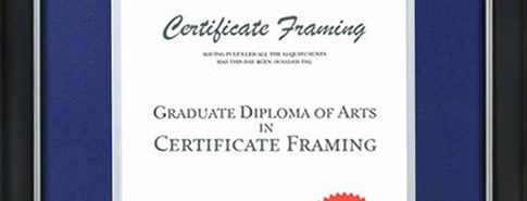 Degree & Certificate Framing Brisbane